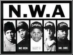 NWA was one of the first rap groups I liked and who new two them would become iconic, to this day there still going, not only in music but also the film industry. Rip easy e