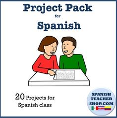 Save 33% on 20 of our Best Spanish projects which can be used for Spanish levels 1 and 2.