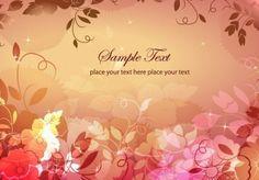 Dream Floral Background