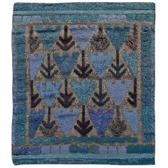 Swedish Carpet by Marta Maas Fjetterstrom | See more antique and modern Russian and Scandinavian Rugs at http://www.1stdibs.com/furniture/rugs-carpets/russian-scandinavian-rugs