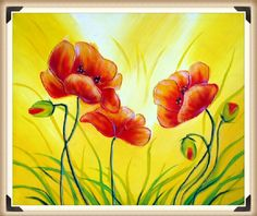 Shop Popular Easy Flower Painting from China | Aliexpress