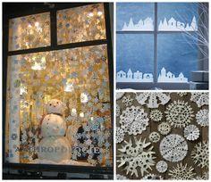 10 pomysłów na świąteczne dekoracje okien