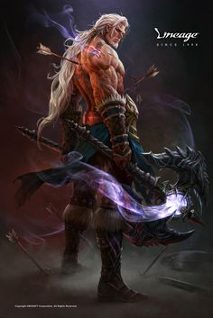 ArtStation - NCSOFT_lineage_warrior, Kim Sung Hwan