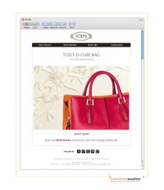From: TOD'S | Subject: Get ready for Mother's Day – Free Shipping