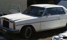1971 Mercedes 250CE: Parts or Project? - http://barnfinds.com/1971-mercedes-250ce-parts-or-project/