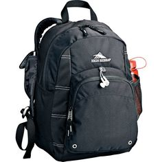 High Sierra Impact Daypack Backpack  Black *** Want to know more, click on the image.