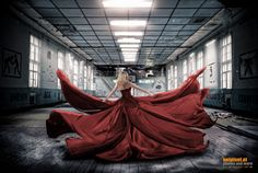 Lady in red by Reinhard Loher on Lady In Red, Editorial Fashion, Cool Pictures, Ballet Skirt, Nice, Photos, Photography, Inspiration, Image