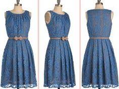 Resultado de imagen para vestidos cortos con encaje color coral