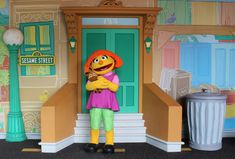 SeaWorld Orlando has announced that Julia, an amazing 4-year-old with autism, will make her debut at Sesame Street today to celebrate Autism Acceptance Month: Seaworld Orlando, Orlando Florida, Best Amusement Parks, Elmo And Cookie Monster, Sesame Street Characters, Meeting New Friends, Big Bird, Sea World, Autism