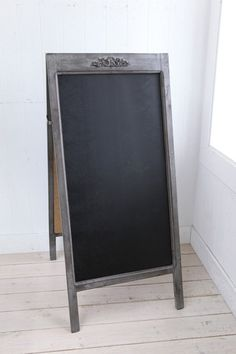 ボースサイド・サインボード/看板/スタンド/店舗用/木製/ウッド/ディスプレイスタンド/ブラックボード/おしゃれ/黒板/co-kk-06□■
