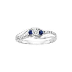 fred meyer jewelers 1 8 ct tw diamond promise ring. Black Bedroom Furniture Sets. Home Design Ideas