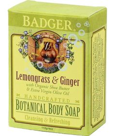 When you buy this soap bar at Soap Hope, you change the world for a woman - Soap Hope invests all the profits to lift women from poverty. *Lemongrass and Ginger Body Bar* Soap Hope brings you Lemongrass and Ginger Body Bar, an all-natural premium soap bar hand-crafted by leading maker Badger. Morning showers were meant for this refreshingly invigorating and Certified Natural lemongrass and ginger bar soap. When water hits the bar, all natural essential oils come to life and fill the bathroom…
