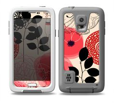 The Pink Nature Layered Pattern Samsung Galaxy LifeProof Fre Case Skin Set Cool Cases, Cute Phone Cases, Galaxy S5 Case, Samsung Galaxy S3, Pink Nature, S5 Mini, Apple Products, One Design, Phone Holder