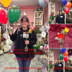 "The winner of our ""Guess What This Is"" Contest. Rainbow Flowers, Mj, Christmas Sweaters, October, News, Gifts, Fashion, Moda, Favors"