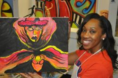 art teachers will guide the way in beginner, intermediate and advance classes
