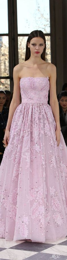 Spring 2016 Haute Couture Georges Hobeika - A Thistle in the Wind Collection