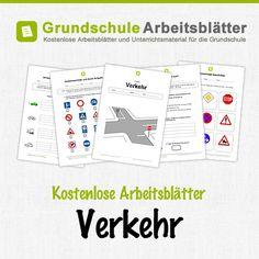 Kostenlose Arbeitsblätter und Unterrichtsmaterial für den Sachunterricht zum Thema Verkehr in der Grundschule.