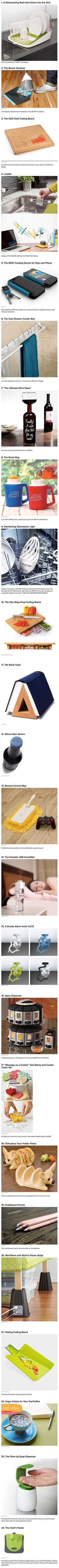 Cool inventions (Creative Kitchen Gadgets)