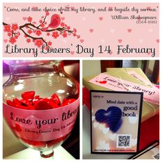 Love Your Library on February 14
