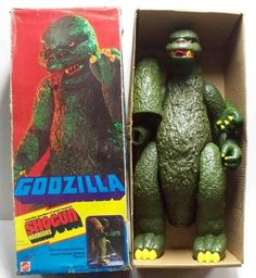 9 Godzilla Action Figures Worth Roaring About Retro Toys, Vintage Toys, Childhood Toys, Childhood Memories, Godzilla Toys, Robot Monster, Den Of Geek, Fighting Robots, Old School Toys