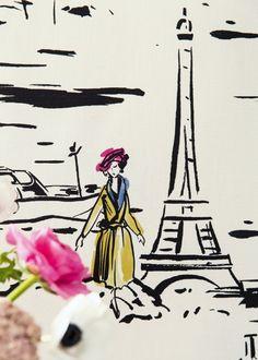 Tissu La Parisienne - Manuel Canovas
