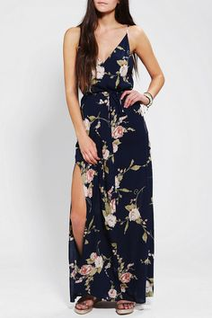 Reformed By The Reformation V-Back Maxi Dress #urbanoutfitters