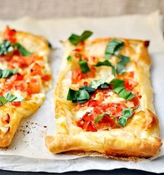 I didn't make this 100% by the recipe, and it tasted decent anyway. Give it a try. Effortless Caprese Tart