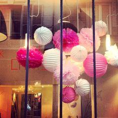 """@Barbara Jilovec's photo: """"Jolie vitrine Pollen #shop #belleville #paris"""""""