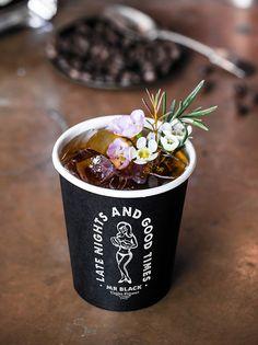 Coffee gin & tonic 15ml Coffee liqueur 10ml Gin 90ml Fever tree tonic