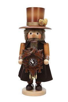 Ulbricht Nutcracker Blackforest Clockmaker natural colors - 41,5 cm / 16 inch, EUR 159.90
