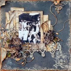 """Heritage"" - recently published in Australian Scrapbooking Memories Tina-Marie"