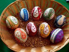 Sorbische Ostereier Sorbian Easter Eggs Ostereiermarkt Schleife 2015