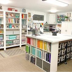 New sewing room ideas fabric storage desks 36 ideas Basement Craft Rooms, Craft Room Decor, Craft Room Storage, Fabric Storage, Home Decor, Small Craft Rooms, Paper Storage, Bedroom Decor, Sewing Room Design