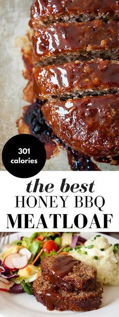The Best Honey Barbecue Meatloaf Recipe Honey Barbecue Meatloaf Recipe! This meatloaf recipe is made with bbq sauce and honey for added smokiness, a little sweetness, and moisture. It's everyone's favorite comfort food! Barbecue Meatloaf Recipes, Bbq Meatloaf, Good Meatloaf Recipe, Sauce For Meatloaf, Meatloaf Recipe Bbq Sauce, Turkey Meat Loaf Recipe, Meatloaf With Stuffing Mix Recipe, Meatloaf With Bacon, Meatloaf With Breadcrumbs