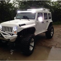 Another nice shot from @arw_offroad showing off our custom headlights. www.headlightupgrade.com