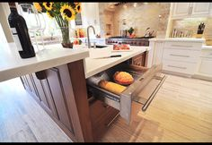 Kitchen Warming Drawer!!! It keeps your food warm and it can heat your plates like how they have hot plates in a restaurant!