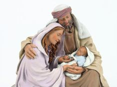 Escenografías para el Belén: Grupo Holy Family, Cribs, Christmas, Angels, Painting, Virgo, Bath, Log Projects, Nativity Sets
