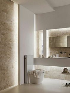 From standard to modern to beach-inspired, bathroom design alternatives are countless. Our gallery showcases bathroom renovation suggestions. Contemporary Bathroom Designs, Contemporary Bathroom Inspiration, Modern Contemporary, Contemporary Bathroom Lighting, Bathroom Lighting Design, Modern Coastal, Modern Boho, Bad Inspiration, Bathroom Renovations
