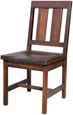 Understated style abounds with this versatile side chair. Our Adelanto Dining Chair is classic addition to your casual or formal rustic dining suite.