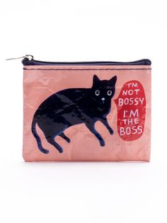 I'm Not Bossy, I'm The Boss Coin Purse (Fits Credit Cards!)