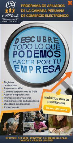 Camara Peruana Oficial de Comercio Electronico - Comercio Electronico en Peru, Cursos de Comercio Electronico