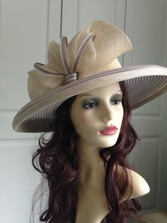588e374f574 Nigel Rayment Occasion Hat - Taupe