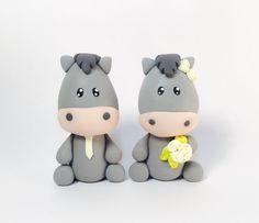 Donkeys Wedding Cake Toppers