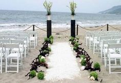 Wedding Beach... Wedding ideas for brides, grooms, parents & planners ... https://itunes.apple.com/us/app/the-gold-wedding-planner/id498112599?ls=1=8 … plus how to organise an entire wedding ♥ The Gold Wedding Planner iPhone App ♥
