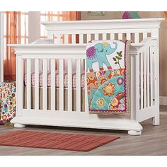 "Oxford Baby Harlow 4-in-1 Convertible Crib - White - Oxford Baby - Babies ""R"" Us"