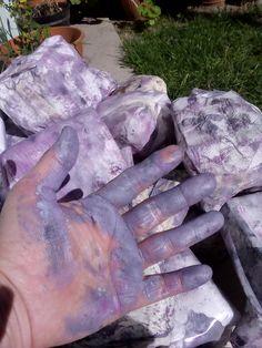 Pintando rocas