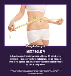 NIEZWYKŁY SPOSÓB NA POPRAWĘ METABOLIZMU PRZYJEMNIE I BEZ WYSIŁKU! Good Advice, Lifehacks, Good To Know, Gym Shorts Womens, Hair Makeup, Spa, Hair Beauty, Organization, Random