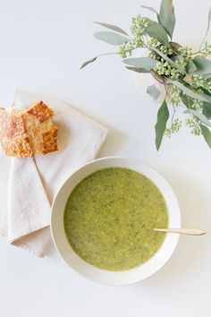 Jessica Comingore | Broccoli Lemon & Parmesan Soup.