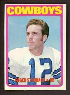 caa944f01a3 For sale 1972 topps football 200 roger staubach rookie card dallas cowboys  nfl hall of famer emorys memories.