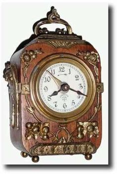 Antique Carriage Clock Signed Lenzkirch